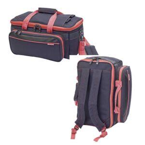 Dokterstas/Verpleegtas GP's - grijs/roze - Elite Bags
