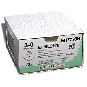 Ethilon 3/0  - 45cm - naald 19mm (per 12 stuks)