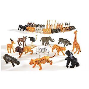 Blijmakertjes - speelgoed diertjes - ZOO - 104 stuks